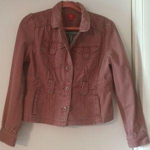 Light Burgandy MOSSIMO jacketlp